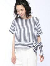 (W)裾ベルトリボンTシャツ・カットソーPJ