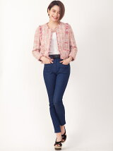 RIBBON BELT DENIM pants