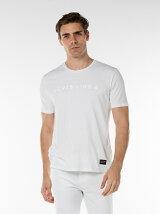 LINE8-Tシャツ/BRIGHT WHITE