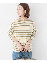 2wayコクーンボーダーTシャツ