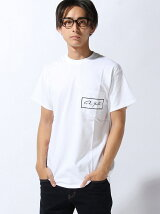 Re Youth/(M)ボックスロゴポケットTシャヅRe Youth゛