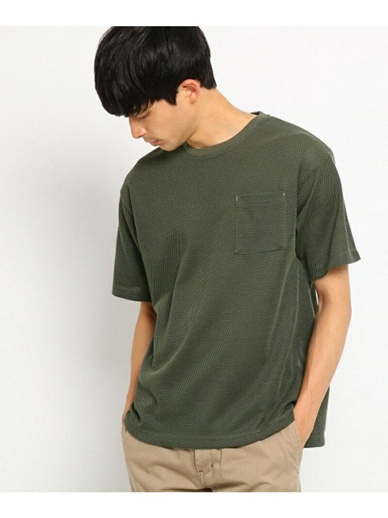 BASECONTROL ビッグシルエット Tシャツ ワッフル ベース ステーション カットソー【送料無料】