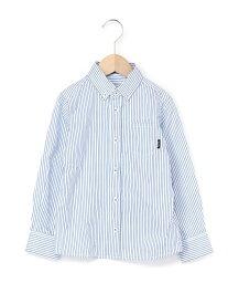 【SALE/50%OFF】ストライプボタンダウンシャツ ベベ オンライン ストア カットソー【RBA_S】【RBA_E】【送料無料】