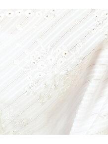 スカラップ刺繍ブラウス