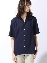 ソフトドレープカラーシャツ