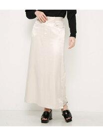 【SALE/50%OFF】SLY CRASH SATIN L/SK スライ スカート ロングスカート ホワイト ブラック【送料無料】
