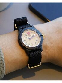【SALE/30%OFF】BEAMS JAPAN BEAMS JAPAN / ビームス ジャパン オリジナル 3針 フィールド ウォッチ 京都版 ビームス ジャパン ファッショングッズ 腕時計 ブラック【送料無料】