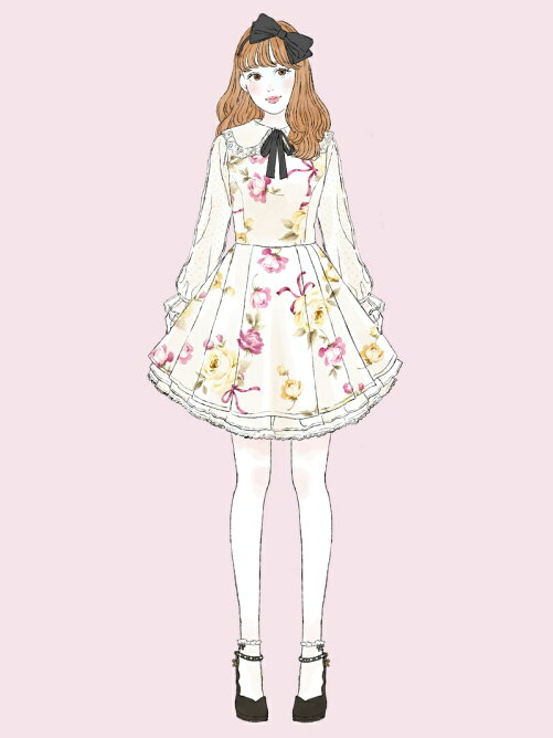 Melty Roseワンピース / mille fille closet