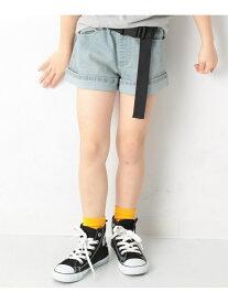 【SALE/10%OFF】devirock デニムショートパンツ 女の子 ズボン 全3色 デビロック パンツ/ジーンズ【RBA_S】【RBA_E】
