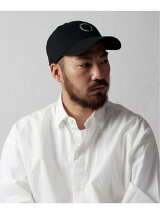 Washed Twill Circle Logo Cap