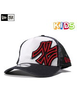 KIDS 9FORTY A-FRAME TRUCKER CAP BATTAL●