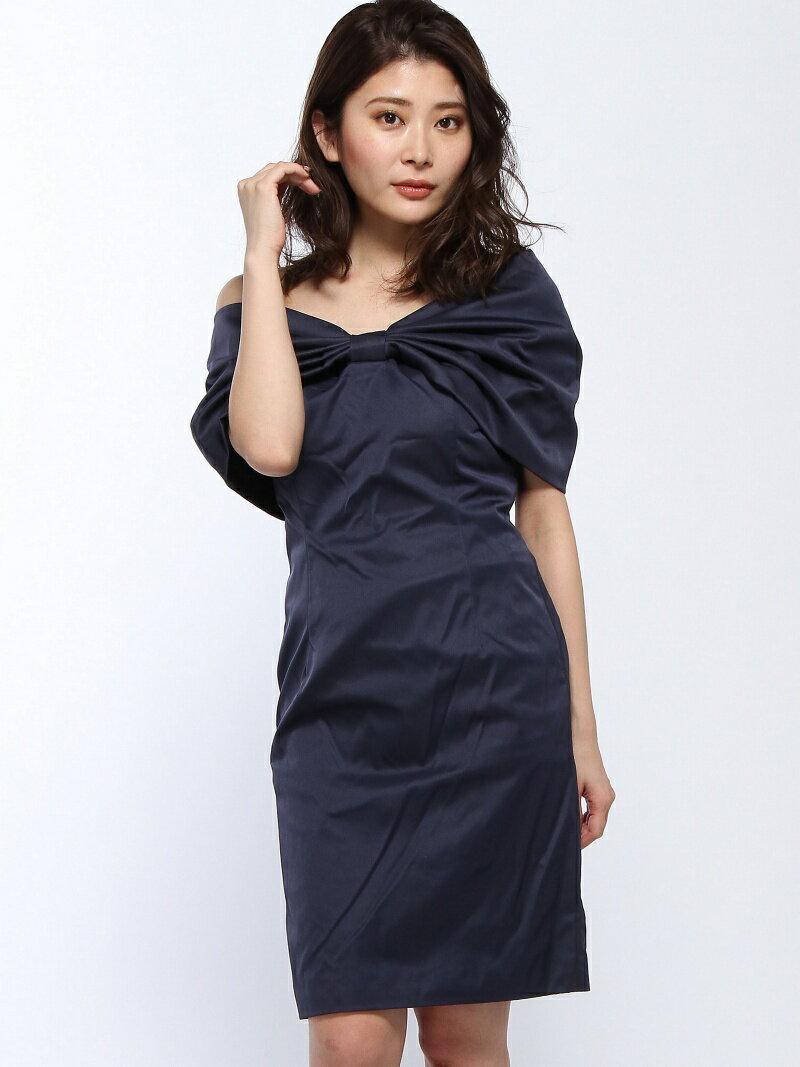 【SALE/29%OFF】Dress Lab Dress Lab/オフショルタイトパーティードレス クリーム ワンピース【RBA_S】【RBA_E】【送料無料】