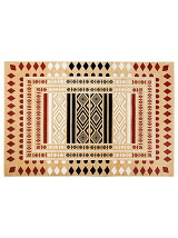 BRID/FOLK RUG WILTON we 120×180cm BE*ベージュ