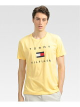 (M)TOMMY HILFIGER(トミーヒルフィガー) フラッグロゴ プリント Tシャツ