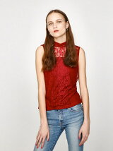 HI NECK LACE N/S TOPS