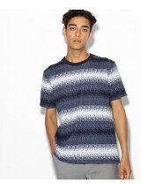 グラデーションボーターTシャツ