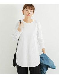 Sonny Label ベーシックコットンロングTシャツ サニーレーベル カットソー Tシャツ ホワイト ブラック【送料無料】
