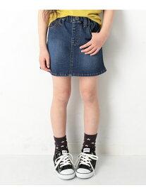 【SALE/10%OFF】devirock デニムスカート 女の子 ボトムス 全4色 デビロック スカート【RBA_S】【RBA_E】
