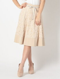【SALE/69%OFF】MISCH MASCH リバーシブルレーススカート ミッシュ マッシュ スカート フレアスカート ベージュ ピンク ブルー