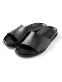 【SALE/20%OFF】The Sandals Factory 別注モノベルトレザーサンダル ナノユニバース シューズ【RBA_S】【RBA_E】【送料無料】