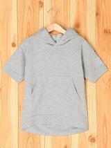 (K)カンガルーポケット半袖Tシャツ・カットソーULT