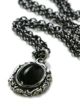 Ivied Frame Stone Setting Necklace2