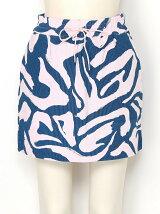 ART ZEBRA STRING ミニスカート