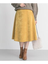 SILVERLIGHTS ボンディングサテンリバーシブルスカート
