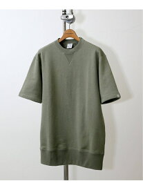 JOURNAL STANDARD 【LOOPWHEELER / ループウィラー】 for LOWERCASE C/N ジャーナル スタンダード カットソー Tシャツ カーキ【送料無料】