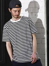 【WEB限定】 SC ★★DRY LONG ボーダーTシャツ <機能性素材>