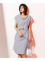 Cotton Stripe ワンピース
