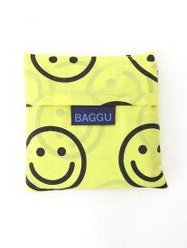 BAGGU BAGGU/エコバックスタンダードサイズ デイリーラシット バッグ トートバッグ イエロー ピンク グレー ブラウン ブラック ネイビー ホワイト