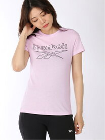【SALE/50%OFF】Reebok (W)TE Graphic Tee Delta リーボック カットソー Tシャツ ピンク ホワイト レッド