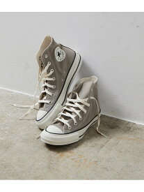 【SALE/30%OFF】Adam et Rope' Le Magasin 【CONVERSE】ALL STAR FOODTEXTILE HI アダム エ ロペ ル マガザン シューズ スニーカー/スリッポン グレー ピンク【送料無料】