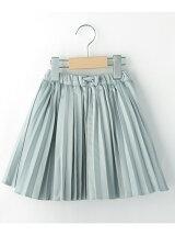 サテン×チュールリバーシブルスカート