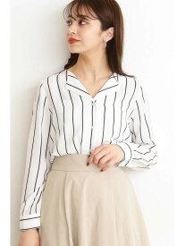 【SALE/10%OFF】N. Natural Beauty Basic ガルーダツイルシャツオープンカラー エヌ ナチュラルビューティーベーシック* シャツ/ブラウス シャツ/ブラウスその他 ホワイト ブラウン ピンク【送料無料】