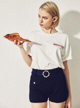 """CHEESE PIZZA TEE"""