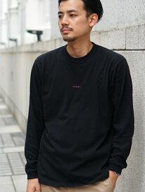 BEAMS MEN BEAMS / ミニロゴ クルーネックTシャツ ビームス メン カットソー Tシャツ ブラック ネイビー ホワイト【送料無料】