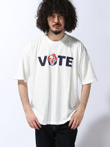 CLOWN VOTE VTG BIG TEE