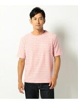 スラブボーダー Tシャツ