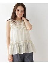 綿麻ローンシャツ