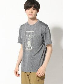 【SALE/30%OFF】Marmot (M)ANGEL WING H/S CREW マーモット カットソー Tシャツ グレー レッド ネイビー