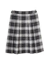 ループチェックツイードスカート