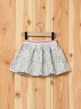 (K)LOTTY _KNIT LACE SKIRT