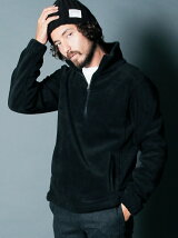 FLEECE STAND HALF ZIP JKT