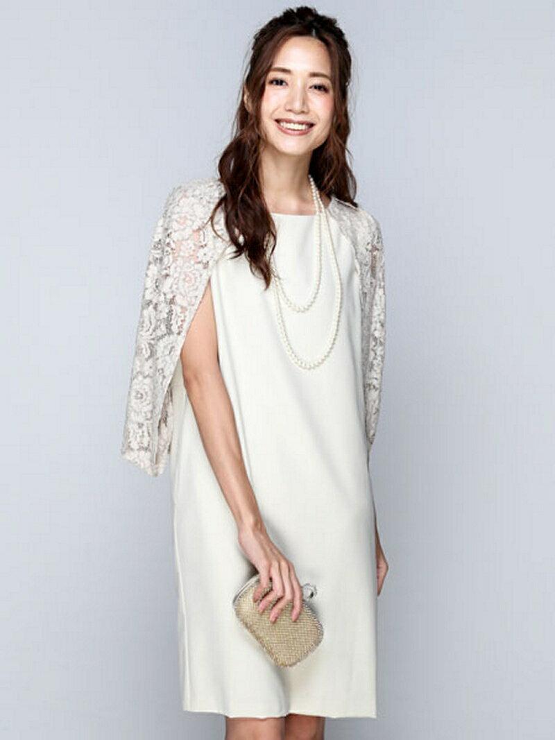【SALE/16%OFF】Dress Lab Dress Lab/大人上品レースワンピース クリーム ワンピース【RBA_S】【RBA_E】【送料無料】