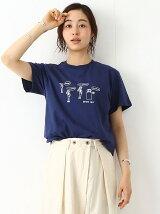 田渕周平×BEAMS BOY / プリント Tシャツ 17SS ビームスボーイ たぶちしゅうじへい