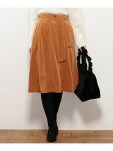 コーデュロイベロア風 スカート