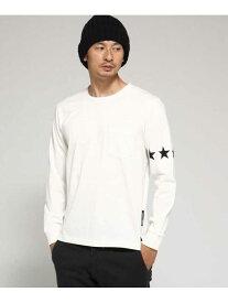 【SALE/30%OFF】BASECONTROL スターラインロンTTシャツWEB限定 ベース ステーション カットソー Tシャツ ホワイト グレー ブラック