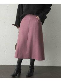 【SALE/30%OFF】ROSSO 【一部WEB限定カラー】ウール混Aラインスカート アーバンリサーチロッソ スカート スカートその他 ベージュ ブラウン【送料無料】